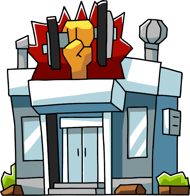 658x678 Place Clipart Gym Building