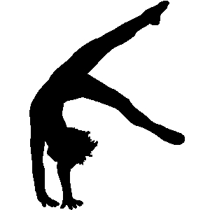 300x300 Gymnast Clipart Floor
