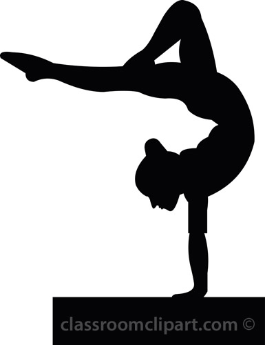 385x500 Gymnastics Clipart Tumbling Free Clipart Images Clipartcow