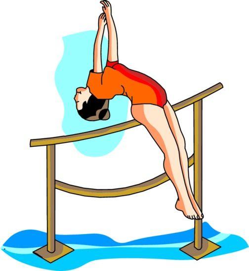 504x550 Gymnastics Gymnast Clipart Free Clipart Images Clipartix