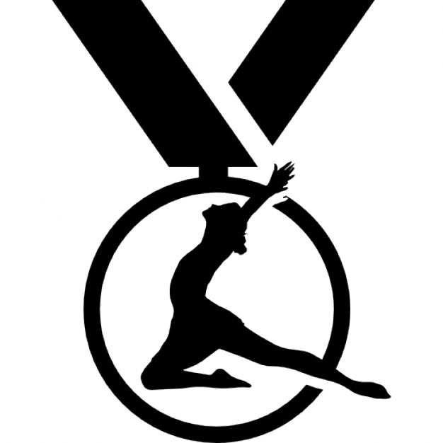 626x626 Gymnastics Medal Variant Icons Free Download