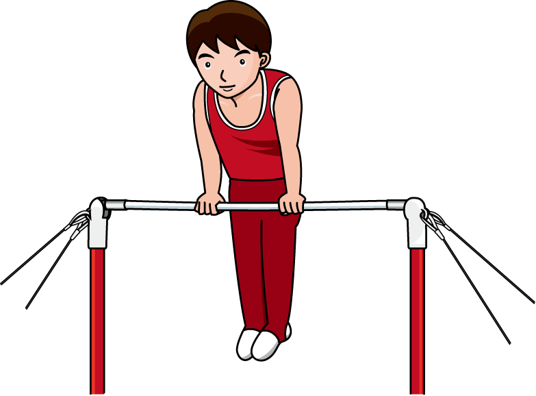 783x578 Gymnast Clipart Animated