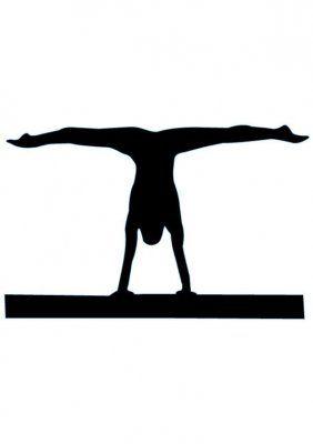 282x400 Gymnast Clipart Backbend