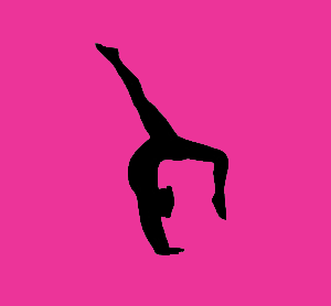 300x278 Gymnast Clipart Pink