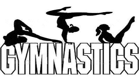 480x280 Gymnastics Clipart Drawing Art