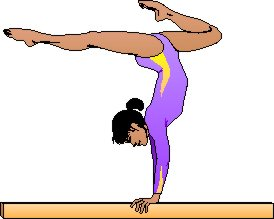 274x219 Gymnastics Bars Clipart