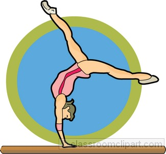 325x302 Gymnastics Clipart Black And White Free Clipart 2