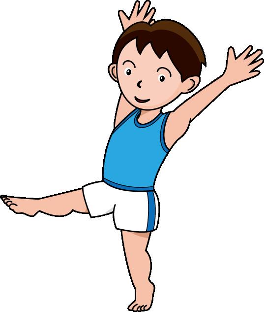 539x633 Free Gymnastics Clipart