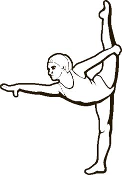245x350 Gymnastics Clipart Black And White Clipart Panda