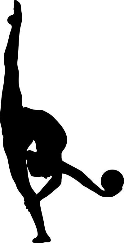 400x781 Gymnastics Clipart Rhythmic Gymnastics