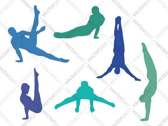 570x428 Boy Gymnast Svg. 6 Boys Gymnastic Poses Clip Art For Scrapbooking