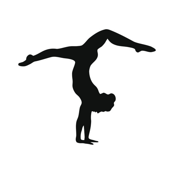 600x600 Graphics For Gymnastic Silouette Graphics