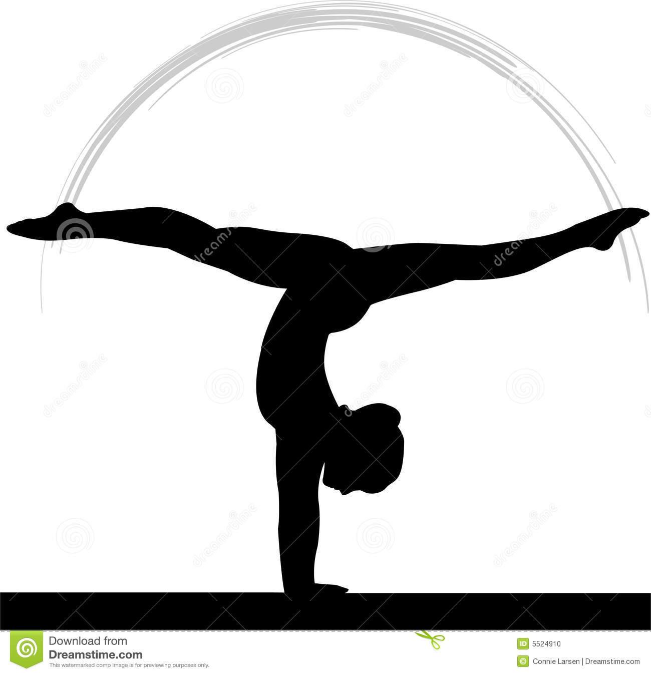 1300x1348 Gymnast Clipart Beam