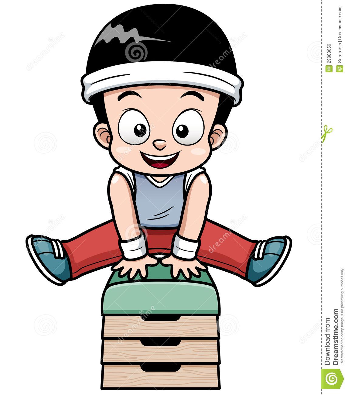 1146x1300 Gymnastics Cartoon Clipart