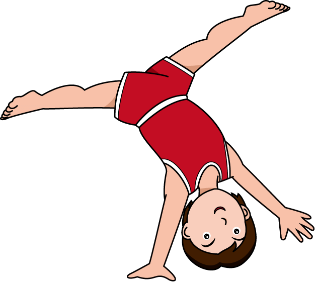 628x561 Cartoon Gymnastics Cliparts 187012