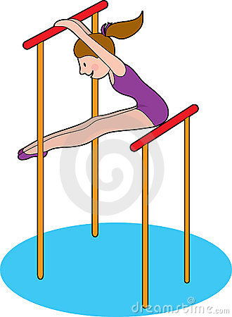 330x450 Gymnast Clipart Gymnastics Bar