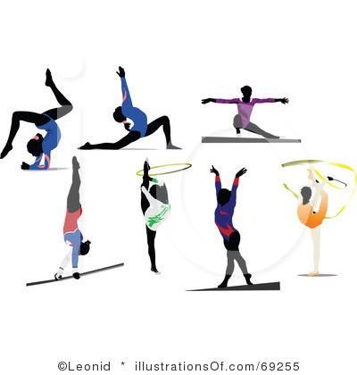 400x420 Gymnastics Clipart Artistic Gymnastics