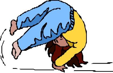 398x259 Gymnastics Clipart Somersault
