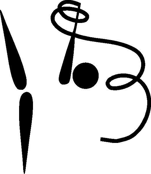 522x599 Olympic Gymnastics Rhythmic Logo Clip Art