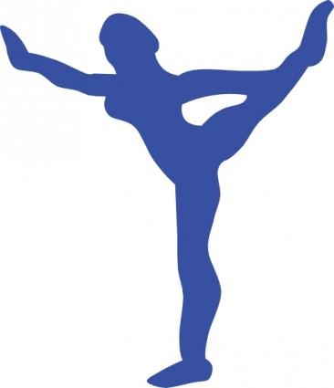 366x425 gymnastics clip art