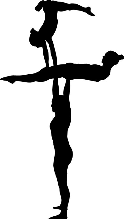 400x707 gymnastics clip art