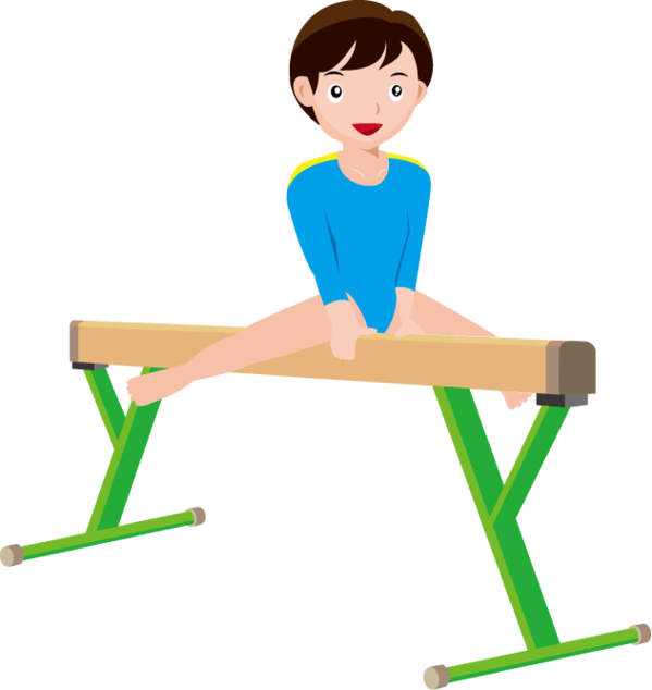 599x634 Free Gymnastics Clipart Clipart Free To Use Clip Art Resource