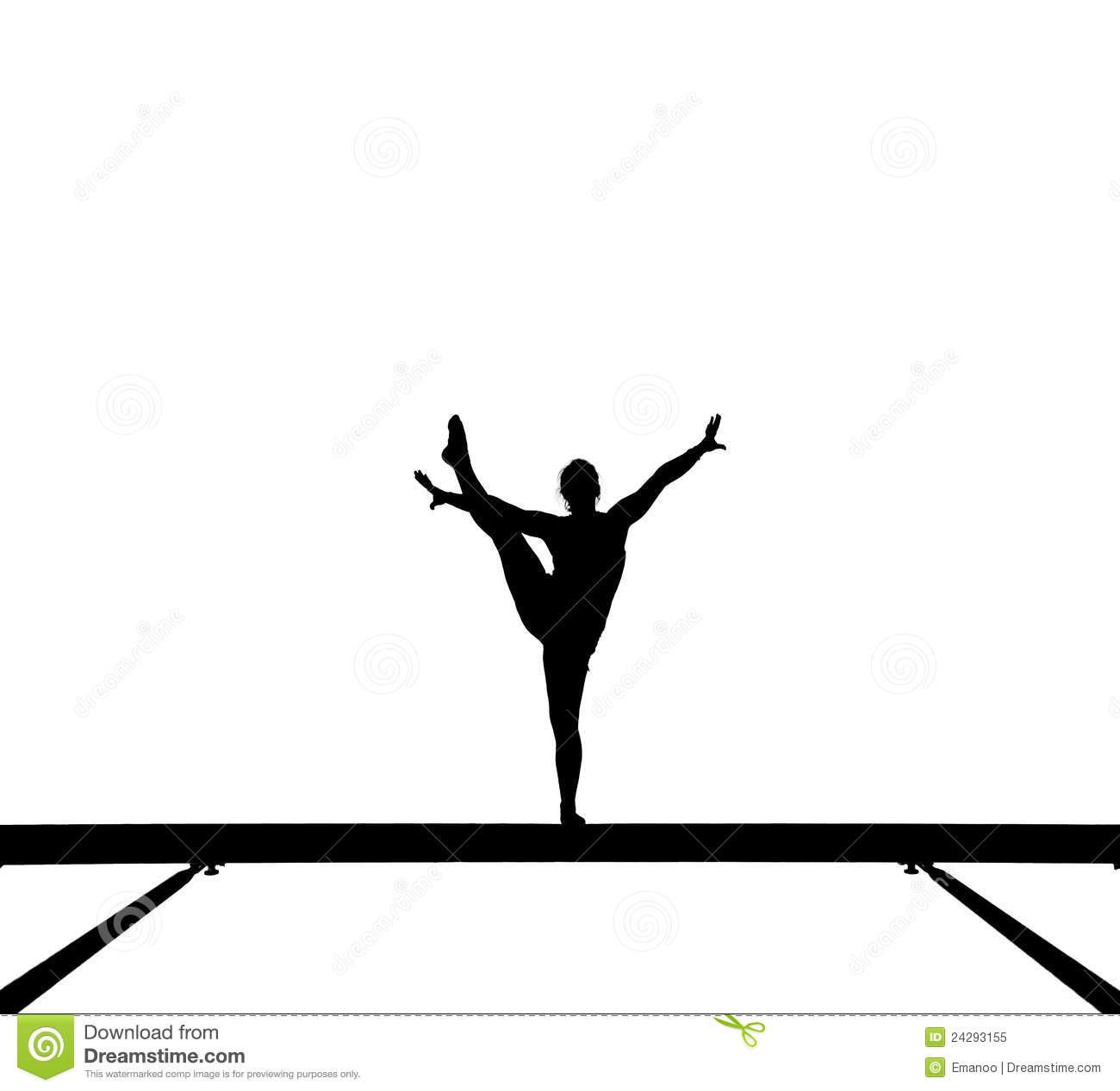1300x1267 Gymnast Clipart Balance
