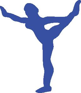 258x299 Gymnast Clip Art