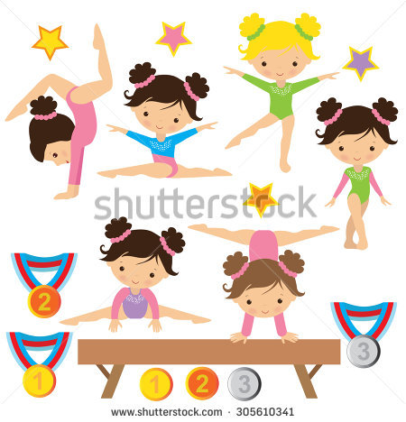 450x468 Gymnast Clipart Kid Gym