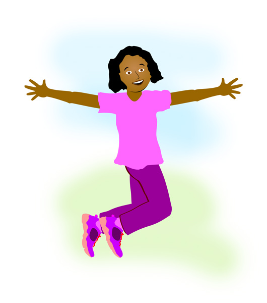530x600 Children On Balance Clipart Free