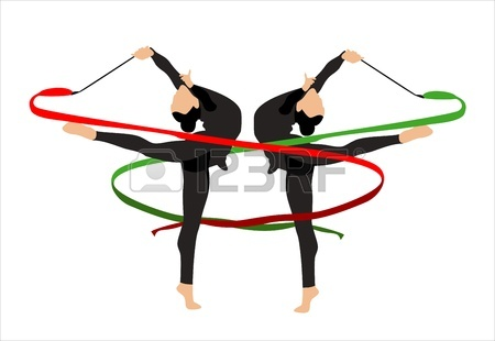 450x310 6,423 Gymnast Cliparts, Stock Vector And Royalty Free Gymnast