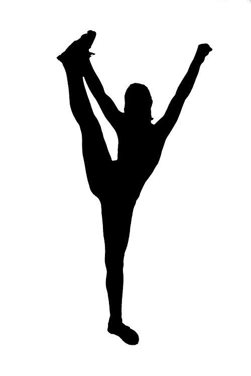 500x748 Gymnast Clipart