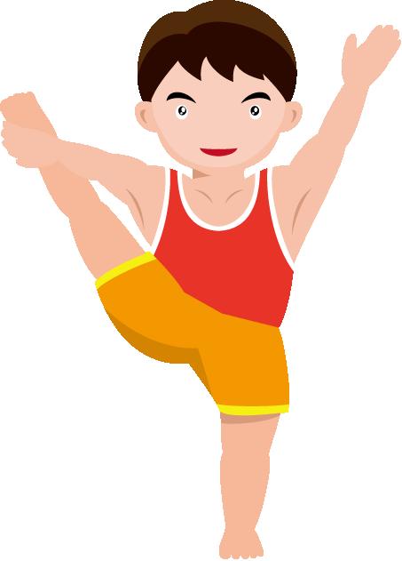 453x631 Gymnastics Clip Art