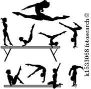 182x179 Gymnastics Clipart Vector Graphics. 13,129 Gymnastics Eps Clip Art