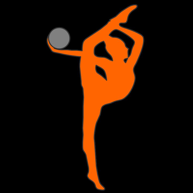 800x800 Free Clipart Rhythmic Gymnastics Ball