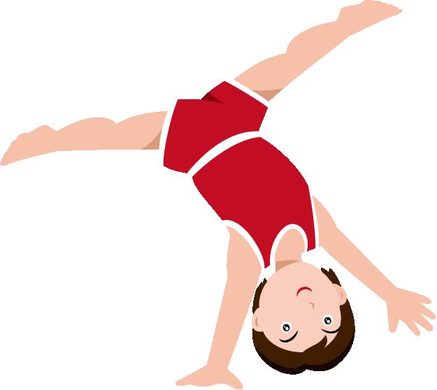 625x558 Gymnastics Silhouette Clip Art