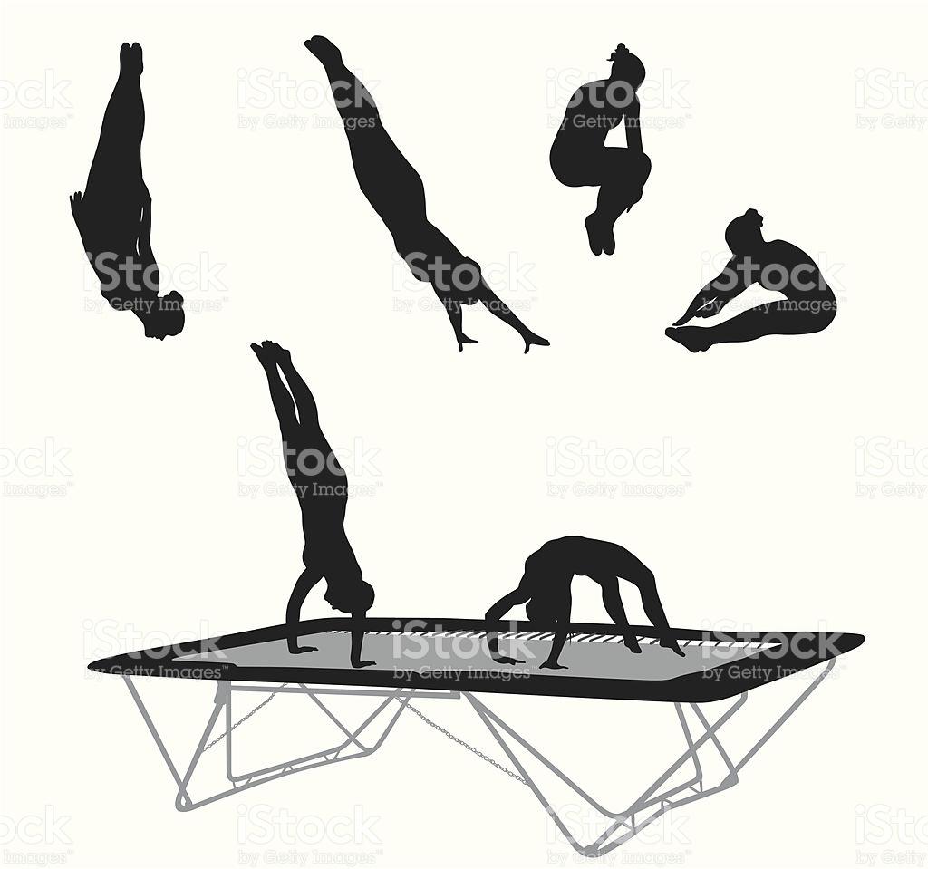 1024x959 Gymnastics Clipart Somersault