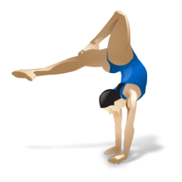 256x256 Ladies With Bows Gymnastics Clipart, Explore Pictures