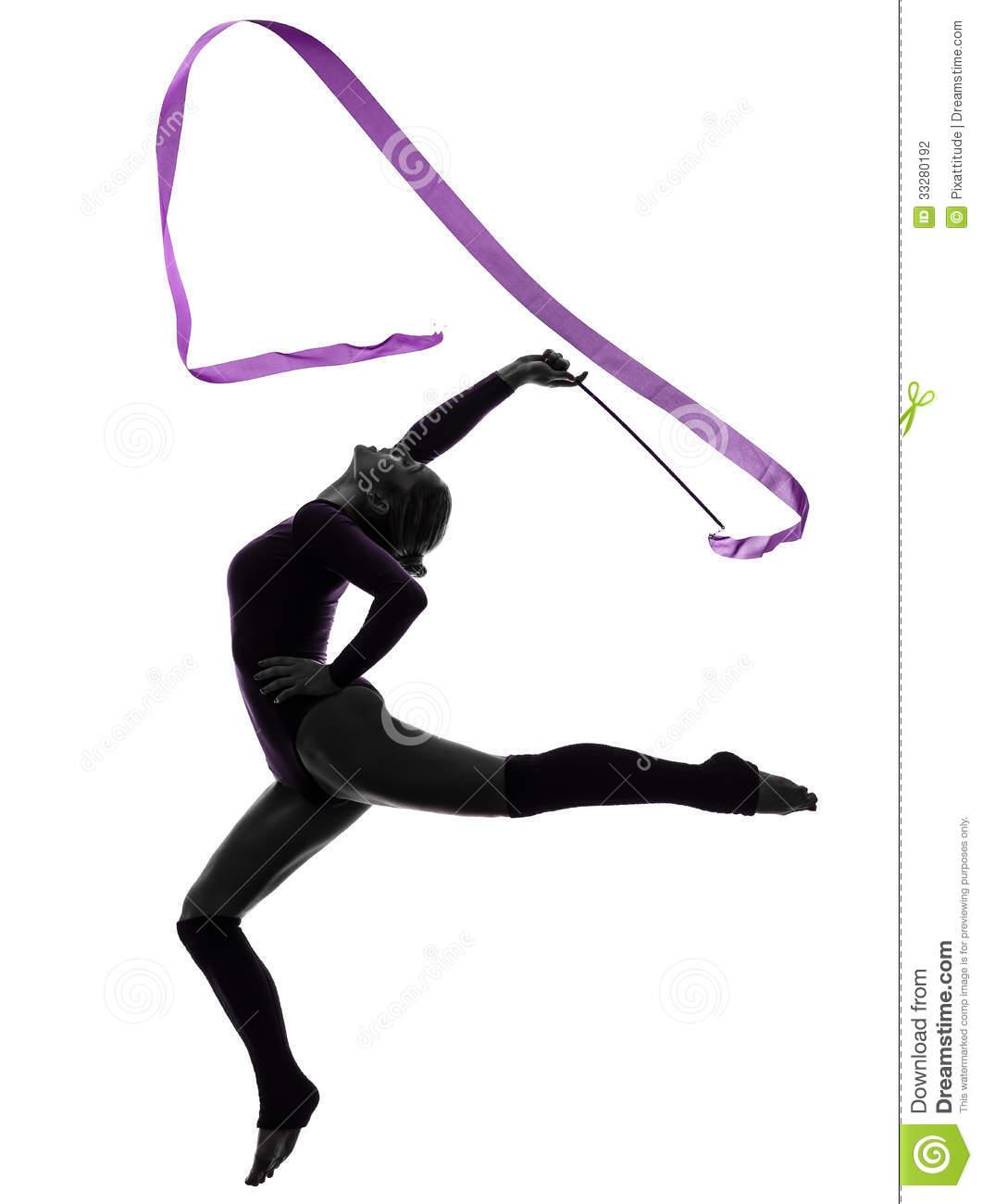 1061x1300 Ribbon Gymnastics Clipart, Explore Pictures
