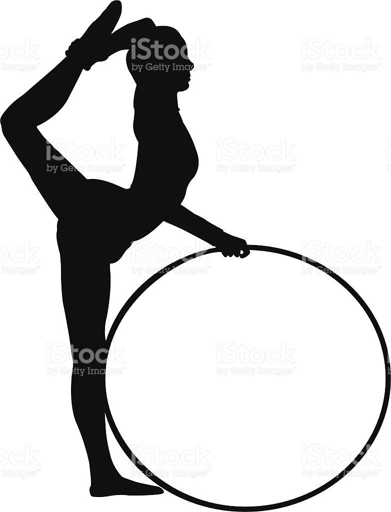 782x1024 Rhythmic Gymnastics Clipart Ribbon