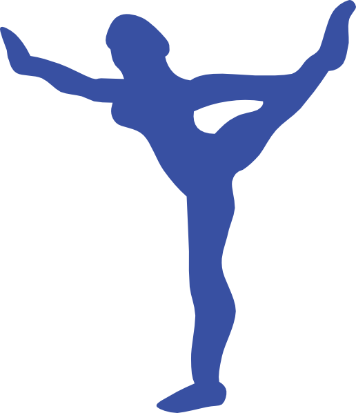 516x598 Gymnast Clip Art