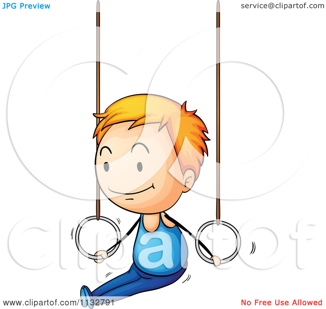 1080x1024 Gymnastics Cartoon Clipart