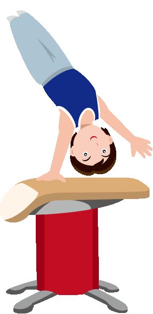 308x631 Gymnastics Clipart Vault