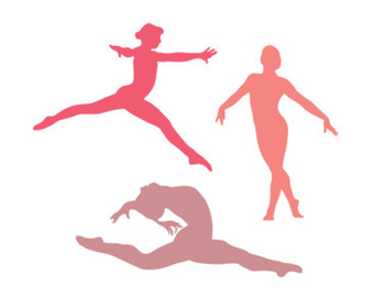 340x270 Gymnastics Svg Dxf File Instant Download Silhouette Cameo Cricut