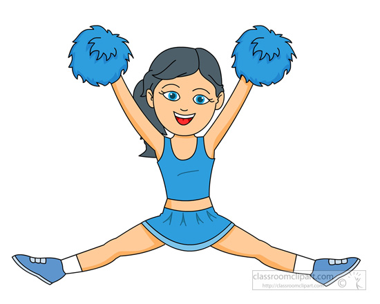 550x440 Cheerleader Free Cheerleading Clipart Clip Art Pictures Graphics 7