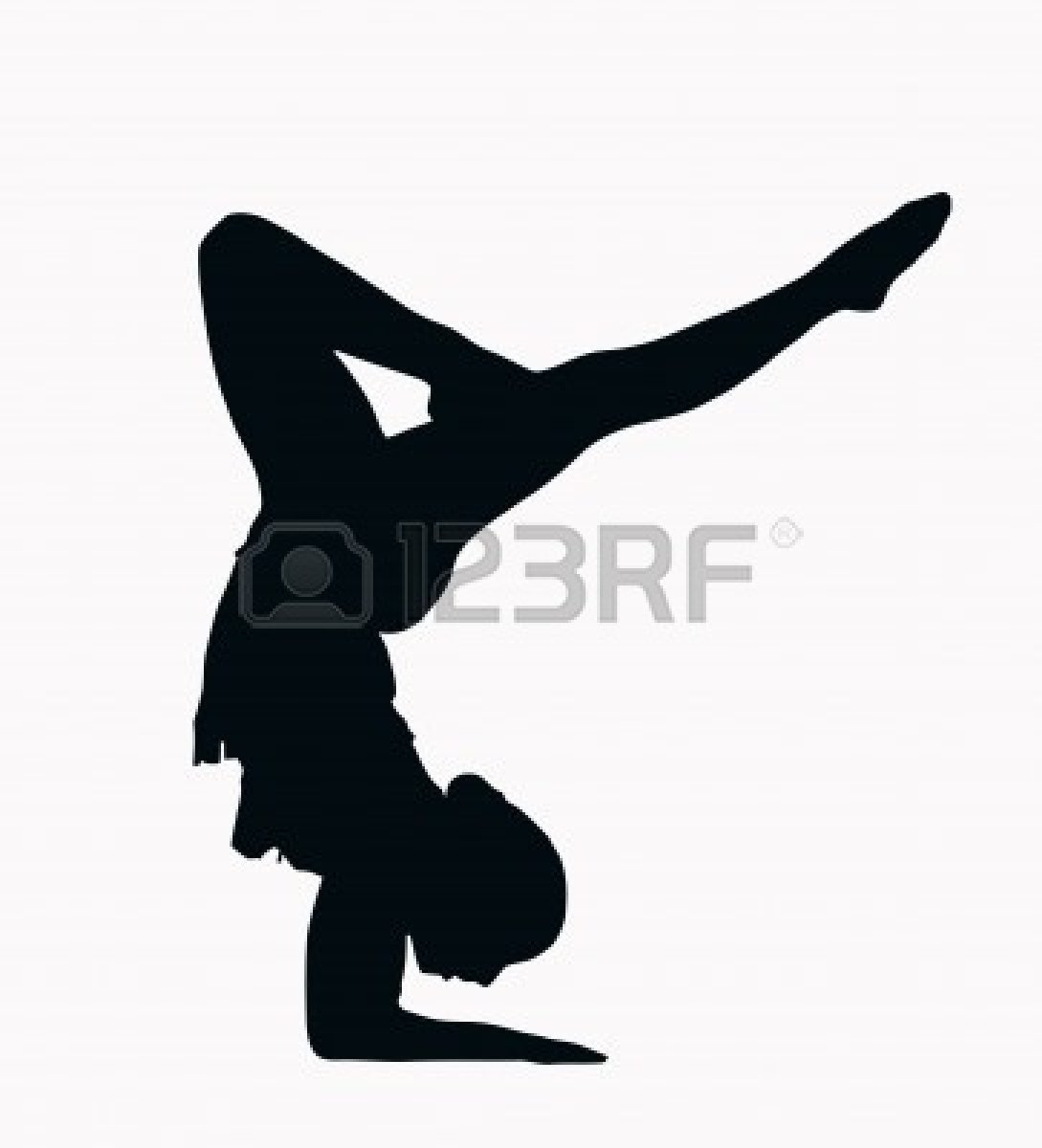 1089x1200 Gymnastics Clipart Black And White