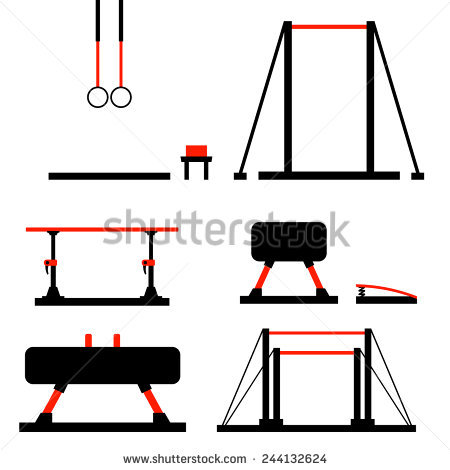 450x470 Gymnastics Clipart Gymnastics Equipment