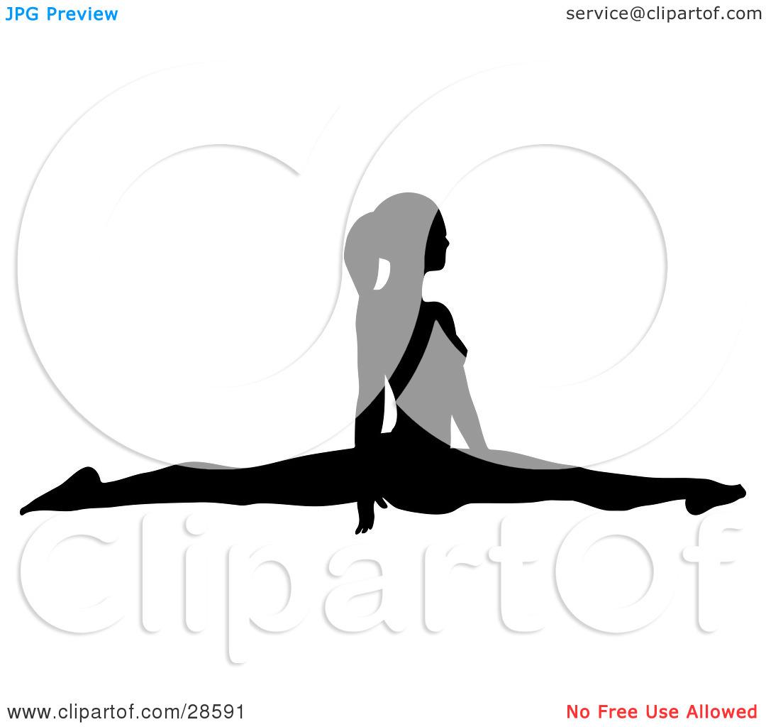 1080x1024 Gymnastics Clipart Gymnastics Split