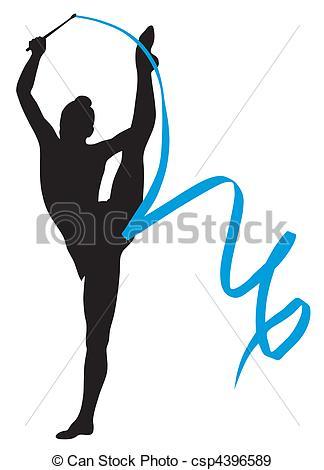 324x470 Gymnastics Clipart Rhythmic Gymnastics