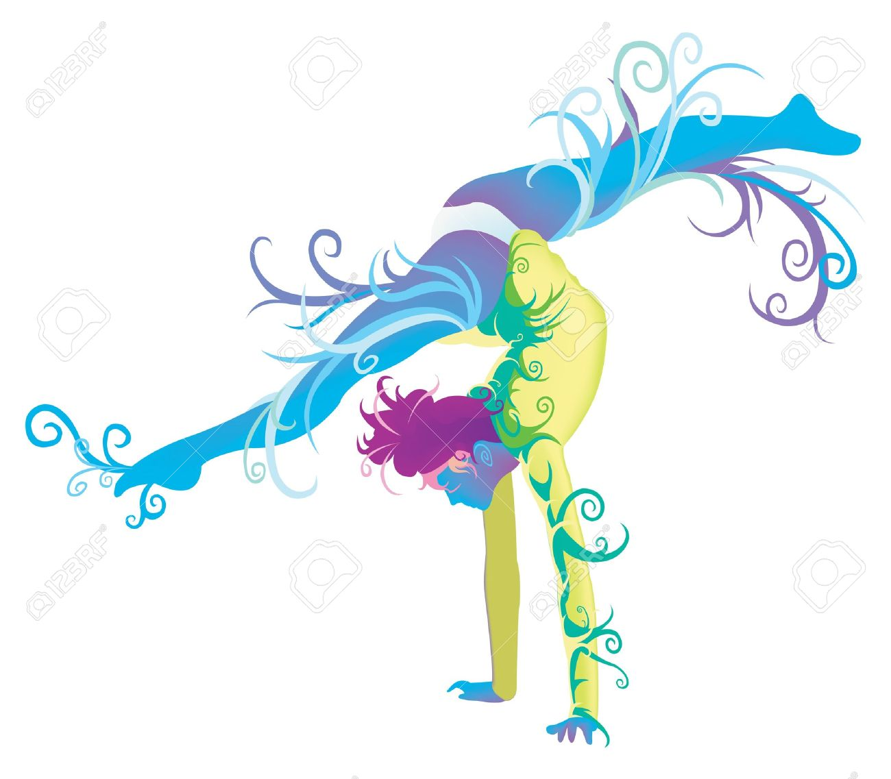 1300x1137 Gymnastics Clipart Silhouette Color